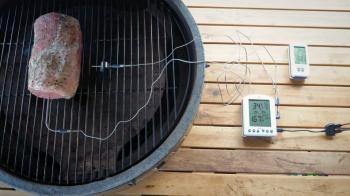 ThermoWorks Smoke X Sondenthermometer und Billows Fan Review
